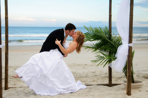 Wedding at Huntington State Park, Atalaya Castle