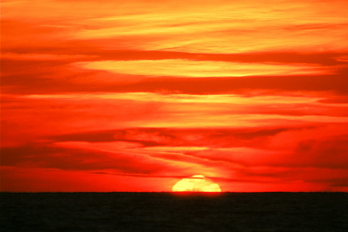 Paphos Sunset By Laurenz