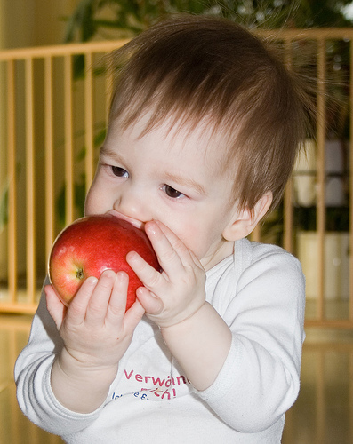 Richard Eating An Apple