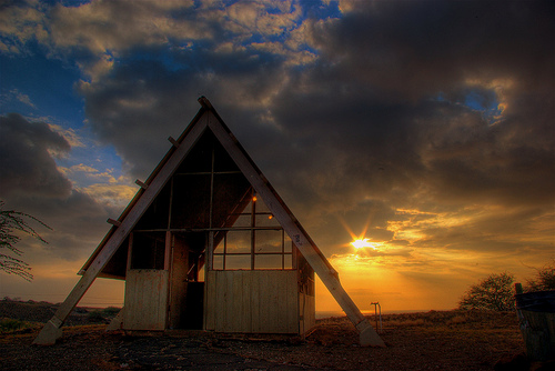 HDR'rred Hapuna Beach Cabin