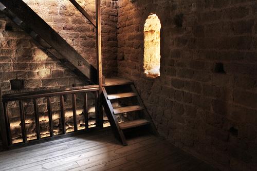 Interior De La Torre De Homenaje, Castillo De Loarre
