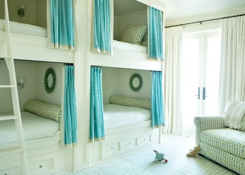 Stacked Bunk Beds