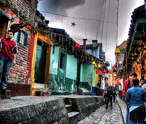 Old Street In La Candelaria