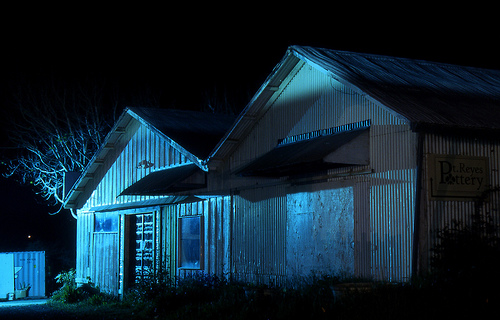 Pt Reyes Pottery At Night