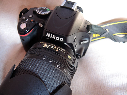 Nikon D5100 Close Up Shot