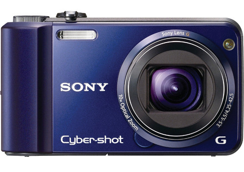 Front-view Of Sony H70