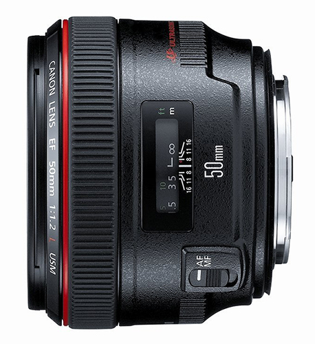 Canon fast lens